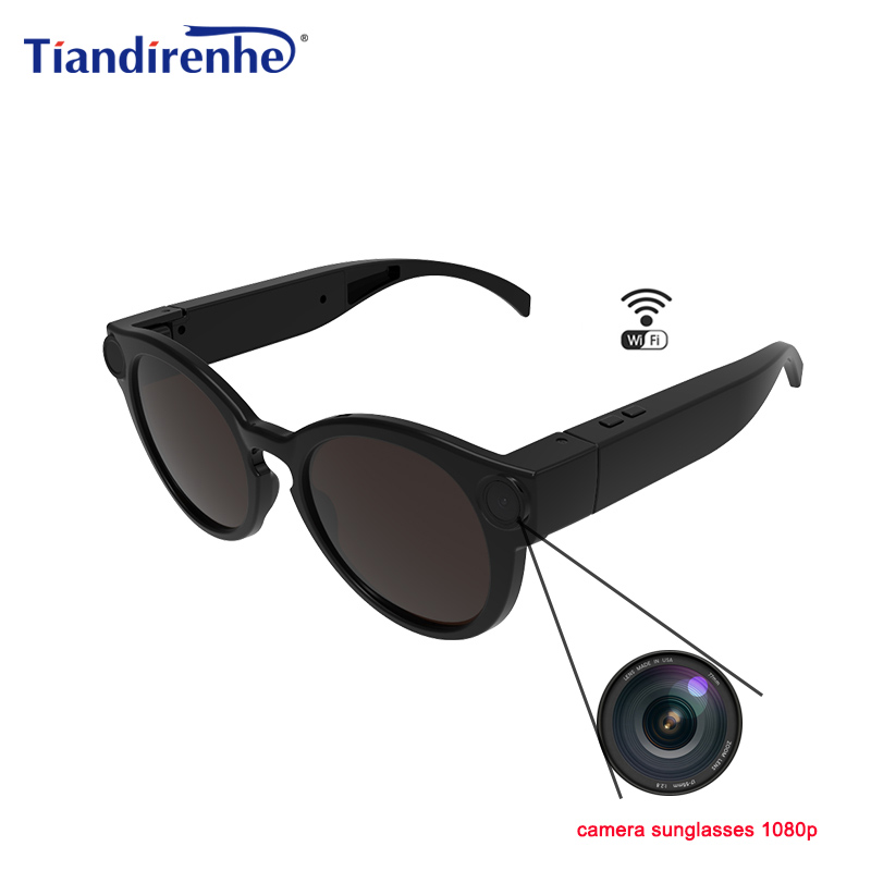 K11 Camera Sunglasses 1080p Wifi Mini Micro Cameras Polarized-lenses HD Sports Video Recorder Camcorder TF Card Eyewear Video все цены