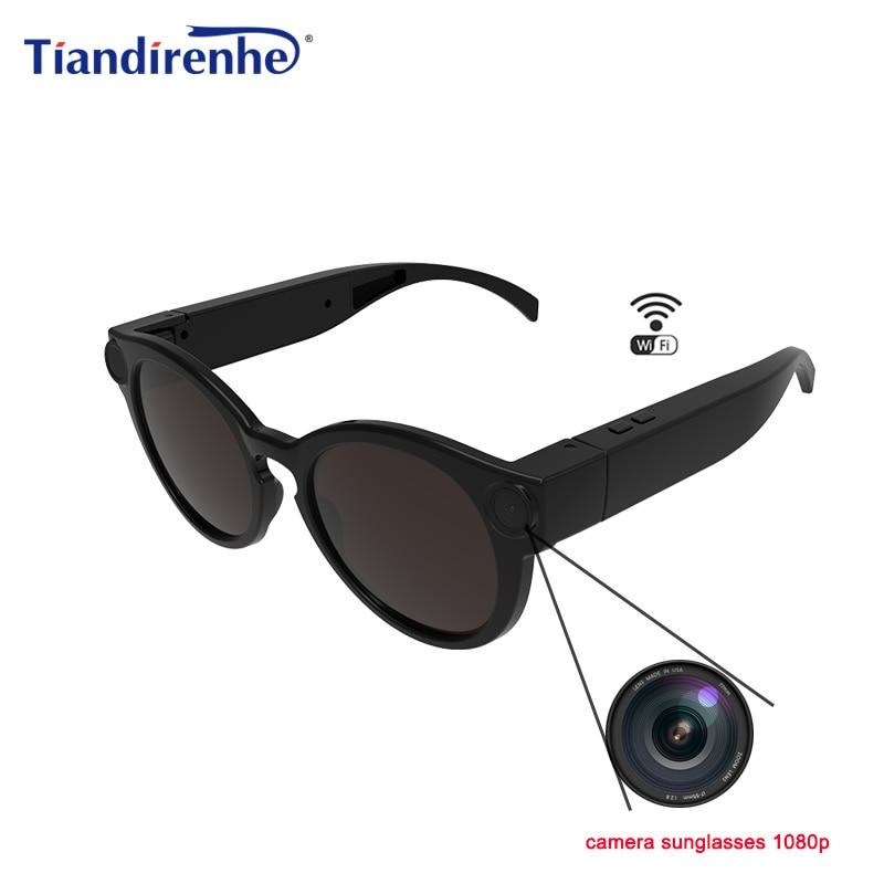 K11 caméra lunettes de soleil 1080 p Wifi Mini Micro caméras polarisées-lentilles HD sport enregistreur vidéo caméscope TF carte lunettes vidéo