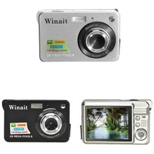 18 Mega Pixels CMOS 2.7 inch TFT LCD Screen HD 720P Telescopic Digital Camera Video Capture Camcorder Anti-shake with Microphone