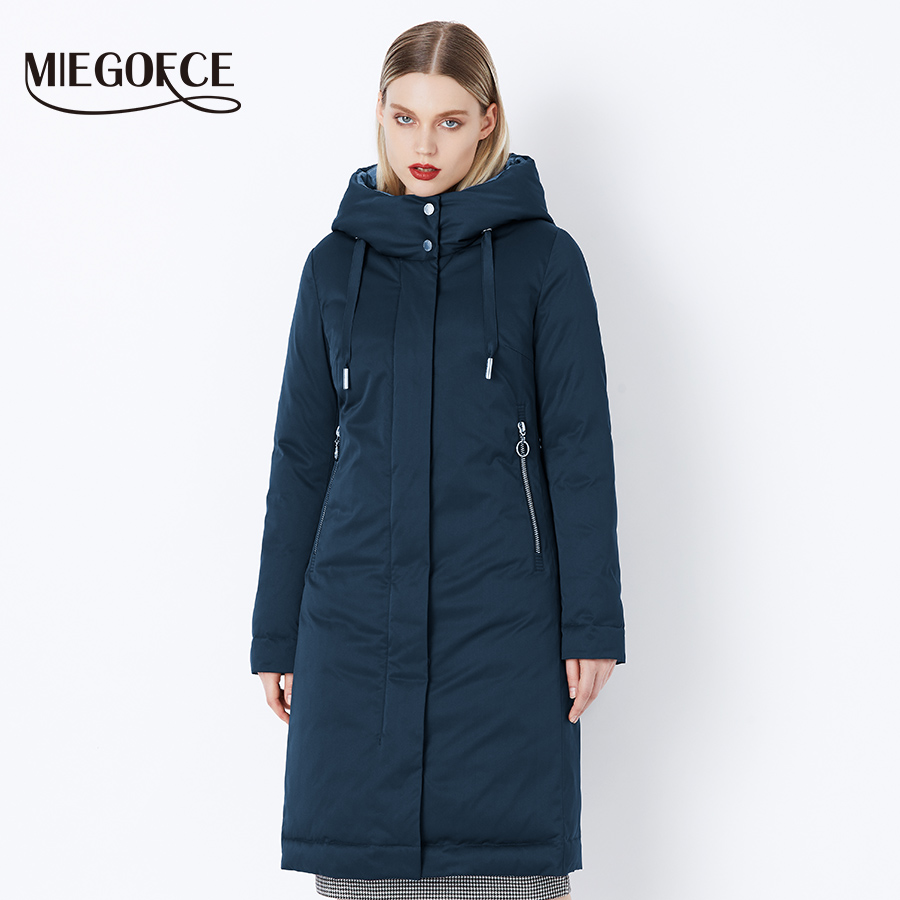 MIEGOFCE 2019 Winter Women s Collection New Stylish Fashion Coat Winter With Bio Fluff Collection Spacious