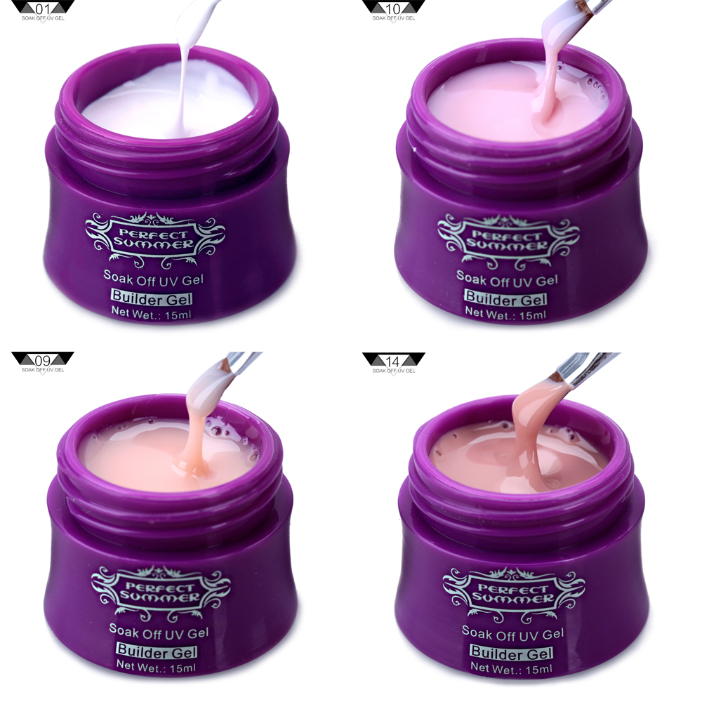 Online-Shop Perfekte Sommer 15 ml Nude Builder UV Gel Soak off UV ...