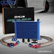 15 Ряд Масляный Радиатор Комплект Для BMW E36/E46 M3 135/E90 335/640/740X1/Z4 Turbo AN10 SL