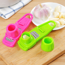 1Pcs Ginger Garlic Grinding Tool Kitchen Accessories Plastic Magic Silicone Peeler Slicer Cutter Grater Planer