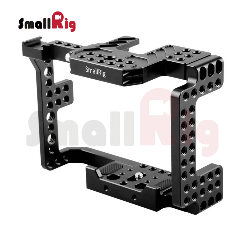 SmallRig Aluminum Alloy Camera Cage for SONY A7II / A7RII / A7SII / ILCE-7M2 / ILCE-7RM2 / ILCE-7SM2 - 1660 new version smallrig cage for sony a6300 a6000 a6500 ilce 6000 ilce 6300 ilce a6500 sony nex 7 cage 1661
