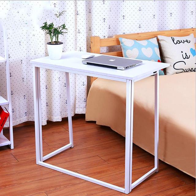 Promoção de alta qualidade simples multifuncional dobrável conveniente instalação gratuita do agregado familiar mesa mesa notebook mesa do computador