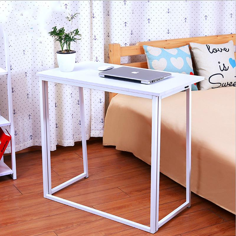 Promotion high quality simple multifunctional  convenient folding free installation household desk table computer notebook desk free installation simple folding desk modern portable dinner table 60 40cm