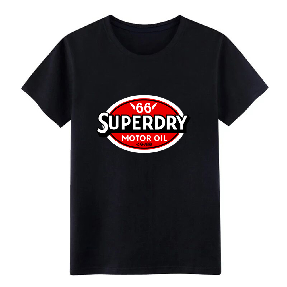 Men's Superdry Motor Oil Reworked   t     shirt   printed cotton size S-3xl Letters Fit Comfortable summer Standard   shirt