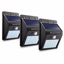 LED outdoor solar sensor…