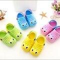 Eur20-29 Sapatos Nova Chegada Do Bebê Dos Miúdos & crianças sandálias Respirável Sapatos de Bebê Dos Desenhos Animados Da Menina do Menino de Praia sapatos de Verão