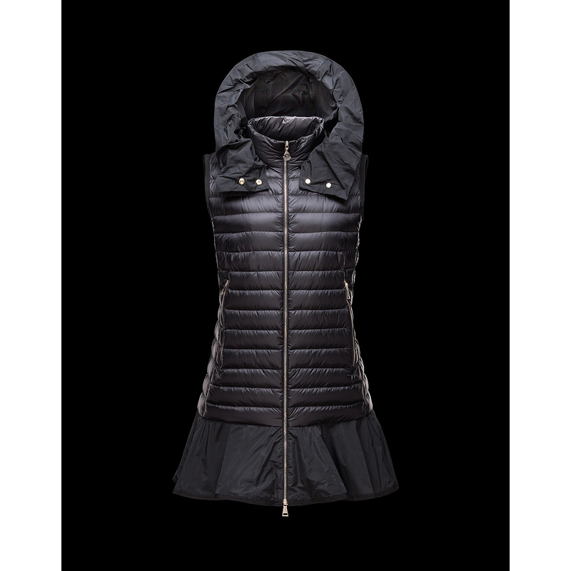 High Quality Women Vest Coat Long Black With Hood Ladies White Duck Down Vests Dress Winter Clothes for Pregnant Women Wholesale