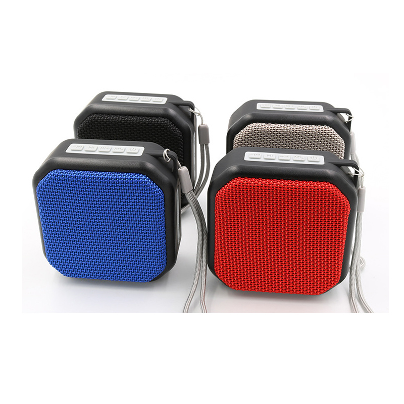 Nby 2230 Bluetooth Speaker Fabric Wireless Speaker Support Outdoor Audio Card Mini Speaker Subwoofer in Portable Speakers from Consumer Electronics