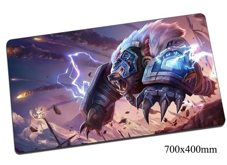 Volibear Mouse Pad 70x40 Cm Gigi Lol Gamer Gaming Mousepad Mouse Mat