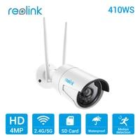 Reolink Cámara WiFi 2,4g/5g 4MP tarjeta de almacenamiento SD Grabación de detección de movimiento HD cámara IP inalámbrica