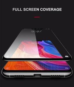 Image 3 - Protector de pantalla de vidrio templado 9D para Xiaomi, Protector de pantalla de vidrio templado para Xiaomi Mi 8 SE Mi 8 Lite
