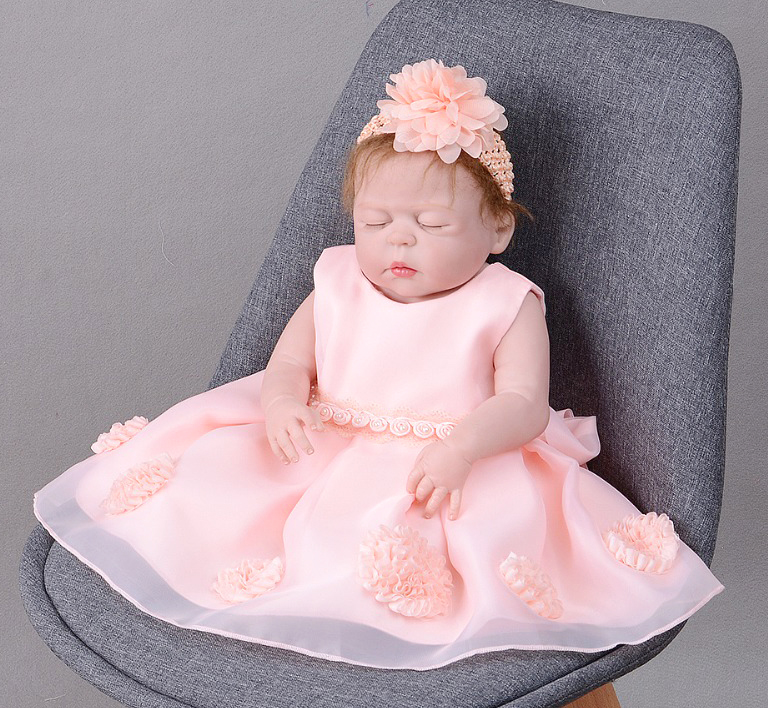 57cm Full Body Silicone fashion Reborn Girl Baby lol Doll Toys Realistic 23inch bathe vinyl Newborn Princess bebe alive Toddler57cm Full Body Silicone fashion Reborn Girl Baby lol Doll Toys Realistic 23inch bathe vinyl Newborn Princess bebe alive Toddler