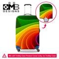 Dispalang персонализированные настраиваемый эластичный 18-30 дюймов багажа протектор обложки водонепроницаемая пыле царапинам чемодан крышка