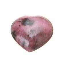 лучшая цена Natural Gem Stone Love Heart Pendants Vintage Clear Tiger Eye Crystal Quartz Opal Reiki Chakra DIY Jewellery