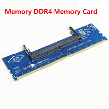 Laptop DDR3/4 RAM to Desktop Adapter Tester Notebook DDR4 Generation Memory Riser Card Test Special Card(China)