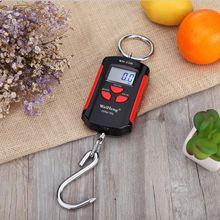 200kg 400lb Mini Crane Scale Heavy Duty Digital Hanging Scales LCD w/ Backlight 200kg high accuracy electronic price computing weighing scales digital hanging hook crane scale