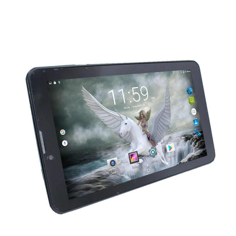 Glavey mtk8321 クアッドコア Tab8 タブレット PC の HD IPS Sreen アンドロイド 6.0 1 ギガバイト/8 ギガバイト 1024 × 600 7 インチ 3 グラム電話ブラックゴールドタブレット