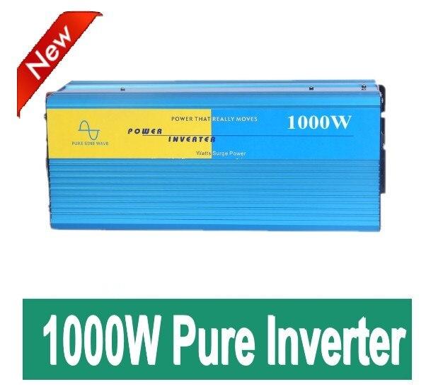 цена на High quality 1000W Pure sine wave inverter 12/24/48V DC to 110/220V AC, PV Solar Inverter, Power inverter Car Inverter Converter