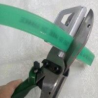 샤프 스크린 인쇄 스퀴지 스트립 가위 그린 컬러 원피스 고무 커터 접착제 길이를 조작하기 쉬운