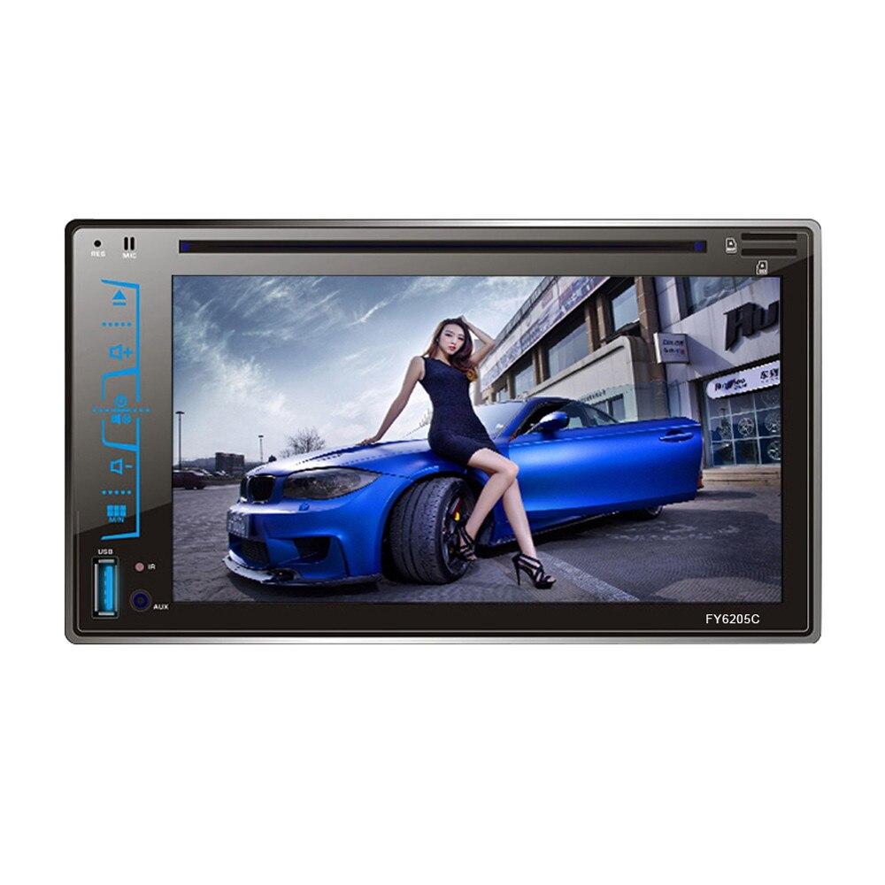 6.2 в Bluetooth Автомобильный аудио стерео FM компактного диска DVD mp5-плеер приемник USB для SD AUX вход моды 17Sept14