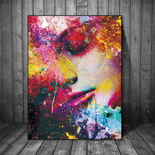 Canvas Painting Wall Art Pictures home decor Wall poster decoration for living room Figure paint on canvas no frame wall art