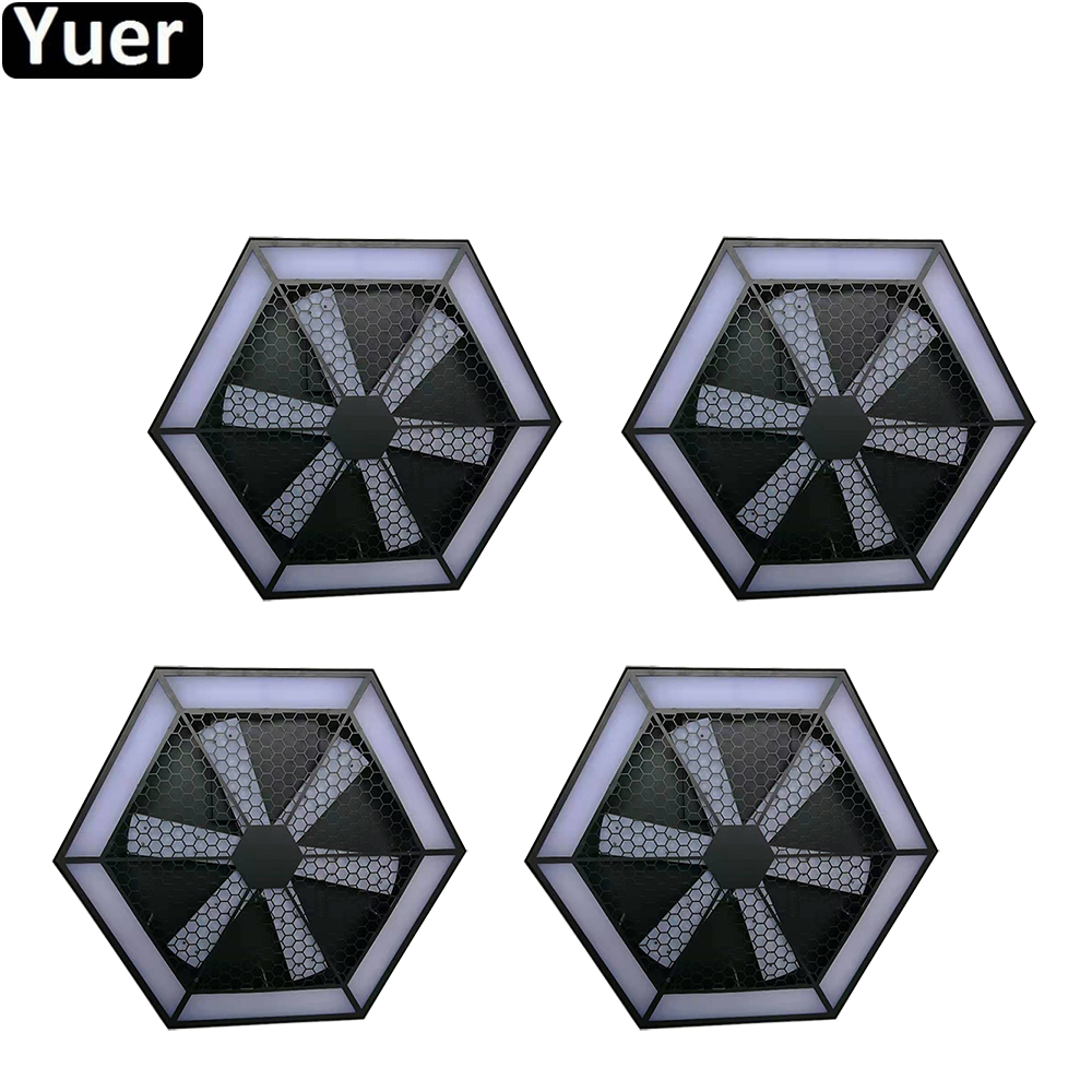 4Pcs/Lot 2019 NEW Stage Lighting 200W LED Effect Light 504pc LED RGB 3IN1 Night Light Disco DJ Party Music Stage Lamp Decoration