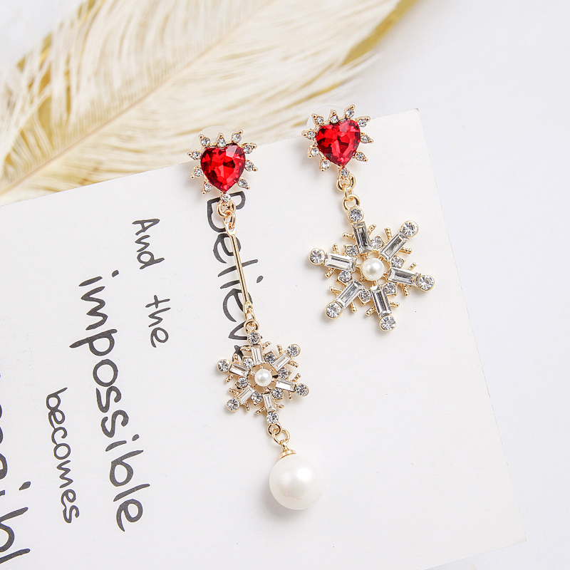 HTB1MO0qcAomBKNjSZFqq6xtqVXaj - 2019 New Hot Sale 20 Style Red Fashion Korean Elegant Geometric Dangle Earrings for Women Cute Pendant Mujer Jewelry