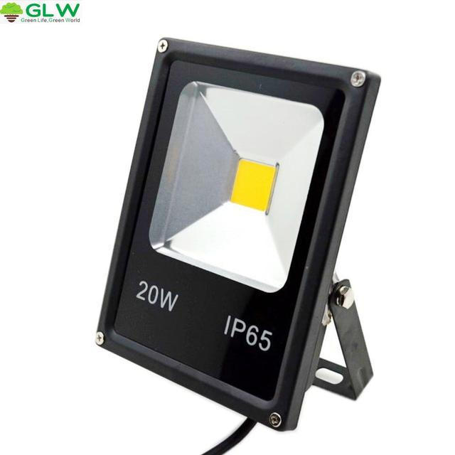 Glw Led Flood Light 10w 20w 30w 50w Outdoor Lamp Security Ip65 Waterproof 220v Floodlight Spotlight Rgb Garden