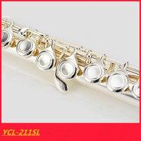 Флейта Высокое качество японская флейта музыкальный инструмент YFL 211SL флейта на C и 16 Ключ флейта Настройтесь музыка профессиональный Беспл