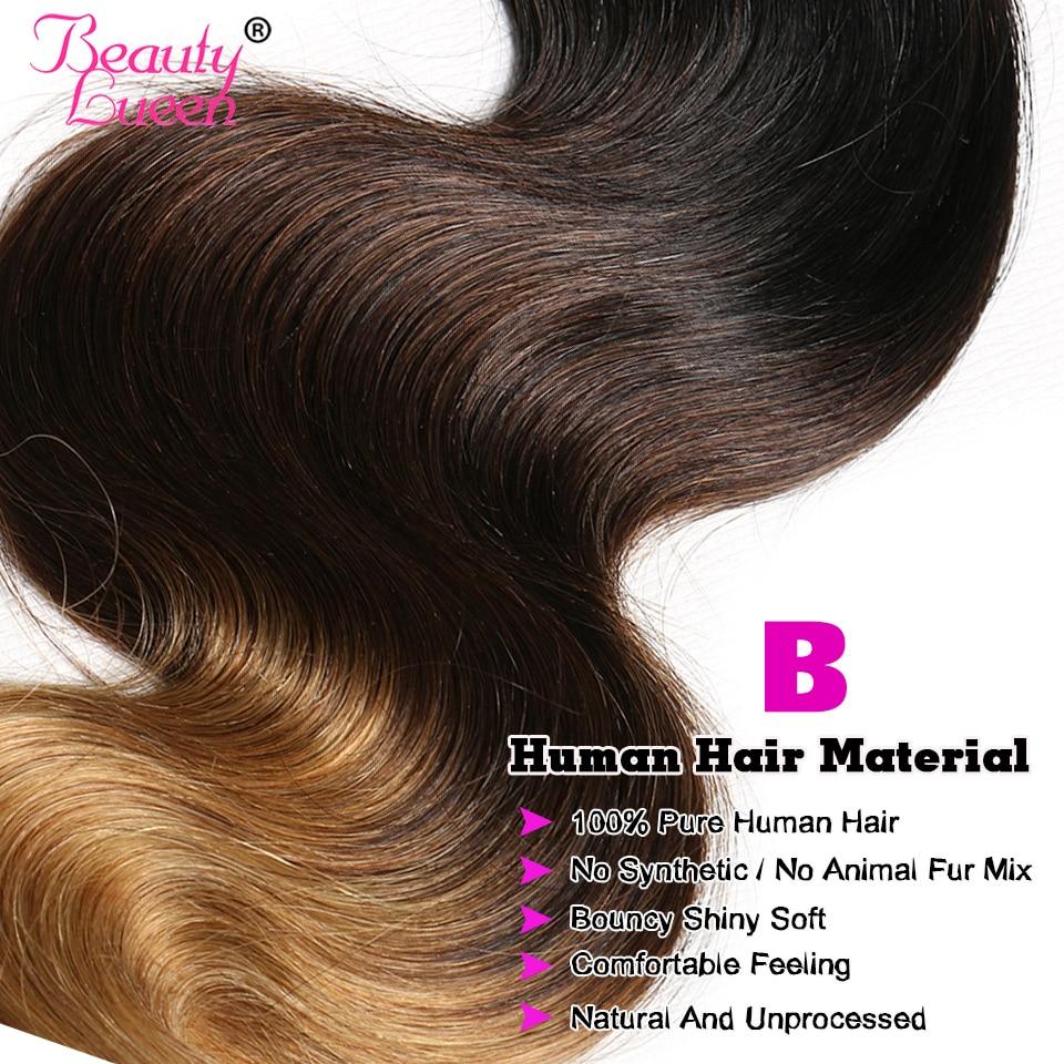 Ombre cilvēka matu komplekti Ombre Brazīlijas matu aušanas - Cilvēka mati (melnā krāsā) - Foto 4