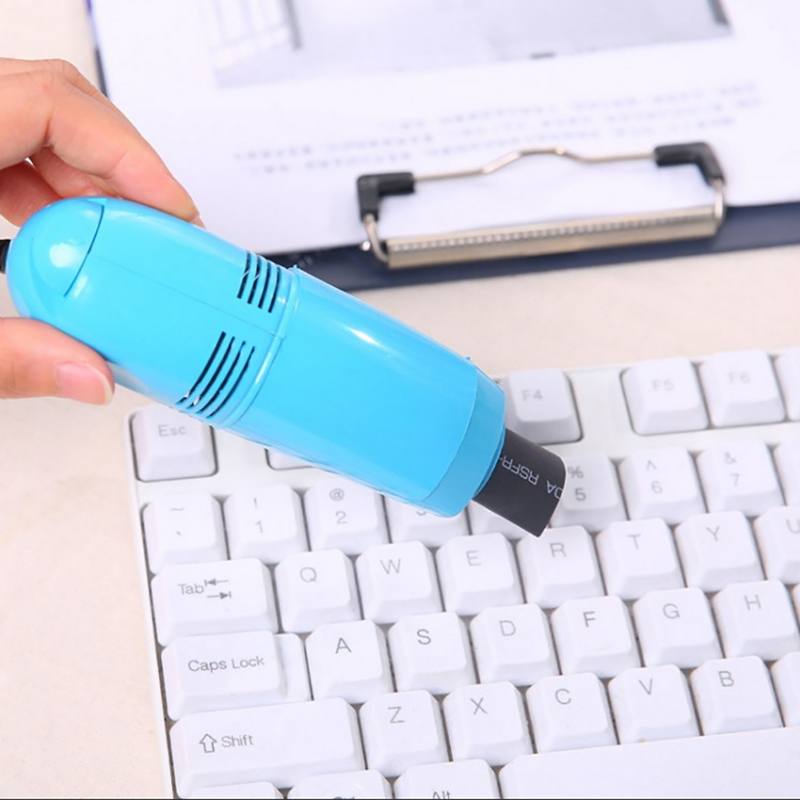Portable Computer Keyboard Mini USB Vacuum Cleaner For PC Laptop Desktop Notebook 10 X 3.4 X 4cm