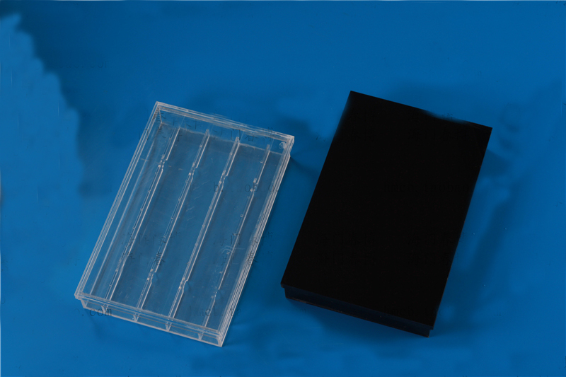 High Quality PMMA Slide Glass wet box can load 20 pieces free shippping Laboratory Equipment