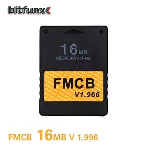 Image 2 - Bitfunx FMCB bezpłatna karta pamięci McBoot 16MB v1.966 w nowej wersji i nowa funkcja + 8/16/64/128MB kartonowe opakowanie pamięci