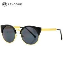 AEVOGUE Envío Libre diseñador vintage ojo de Gato gafas de sol de Marco de Metal súper gafas de sol de marca mujer gafas de sol CE AE0096