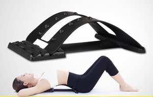 Massage-Equipment Patio 1pcs Stretcher Spine Chiropractic Back-Massager Lumbar-Support