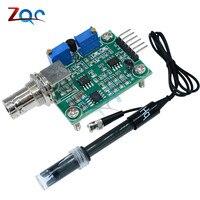Liquid PH Value Detection Detect Sensor Module Monitoring Control For Arduino BNC Electrode Probe