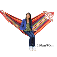 Large Size Double Comfortable Parachute Cloth Hammock Super Load Bearing