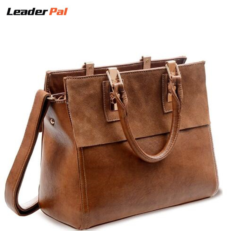ФОТО 2017 Nubuck Leather Women Bag Genuine Leather Handbag Women Spring Shoulder Bag Fashion Ladies Totes Big Capacity Top-Handle Bag