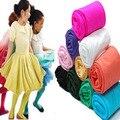 Новая осень дети бархат колготки девушки конфеты цвет детские танцевальные белые колготки Чулки