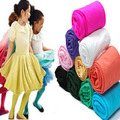 new autumn children velvet pantyhose girls candy color baby dance white tights Stockings