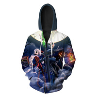 Halloween Christmas Hoodies 3D Men Hoodie Long Sleeve Autumn Winter Tracksuit Special Gift Hooded Sweatshirt Fitness