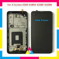 LCD Display Screen With Touch Screen Digitizer Assembly For LG X Screen K500 K500H K500F K500N No Frame or with Frame