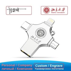 Image 4 - Ingelon USB Flash 256GB Pendrive 128GB Photostick Extra OTG Cle USB Dropship DIY Custom Music Disk On Key 256 GB for USB iphone