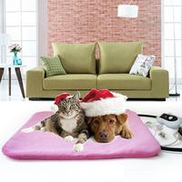 240V 50W Pet Heating Pad Classic Pet Dog Cat Waterproof Electric Pad Heater Warmer Mat Bed