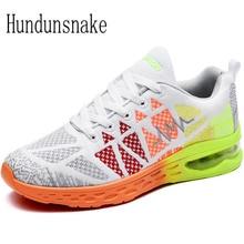 Hundunsnake White Sneakers Women Sport Shoes Female Mesh Breathable Running Shoes For Men Cushioning Ladies Krasovki Gumshoe T3