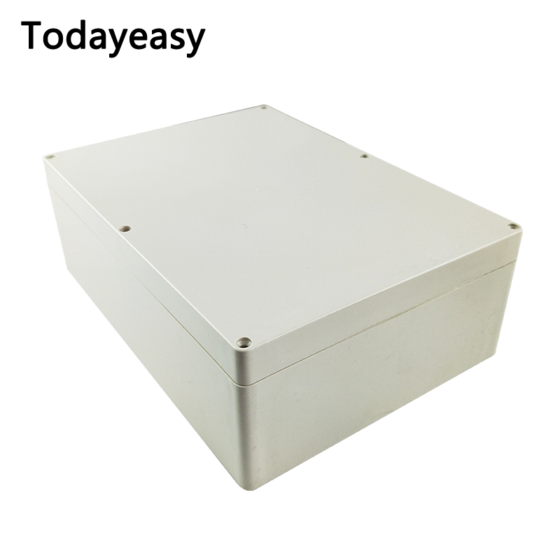 Todayeasy 1Pcs / Lot High Quality ABS Plastic Instrument Box Waterproof Outdoor Junction Box 290*210*100mm Electronic Shell high tech and fashion electric product shell plastic mold