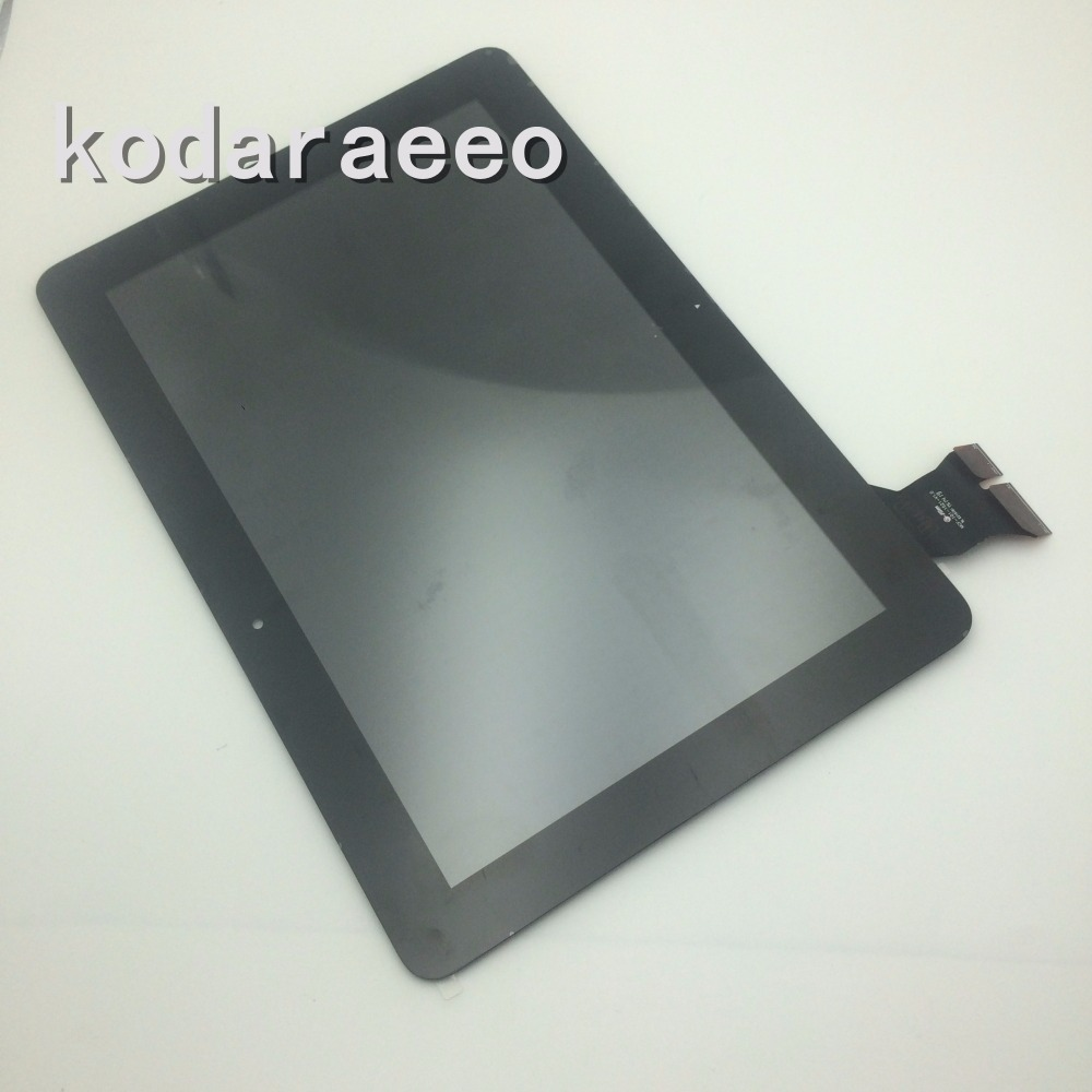 kodaraeeo For Asus MeMo Pad ME103 K010 ME103C ME103k Touch Screen Digitizer with LCD Display Assembly Replacement Parts Black 10 1 inch for asus memo pad 10 me103 me103k lcd display with touch screen assembly free shipping